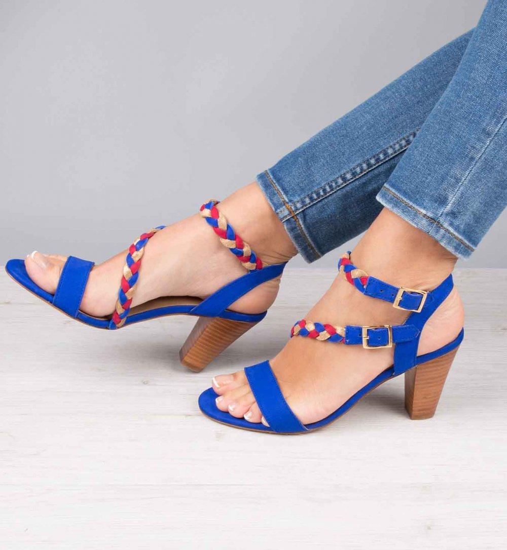 Chaussure converse talon compensé