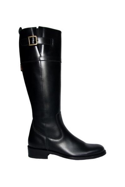 Bottines cavalieres noires