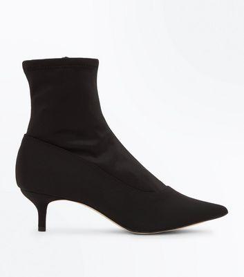 Bottes chaussettes noires - Chaussure - lescahiersdalter 3659b3ab9d4