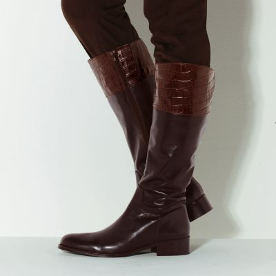 Femmes en bottes de cuir