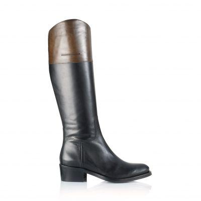 xBdCeoWr Bottes Lescahiersdalter Noires Chaussure Femme Cuir XiuOPkZ
