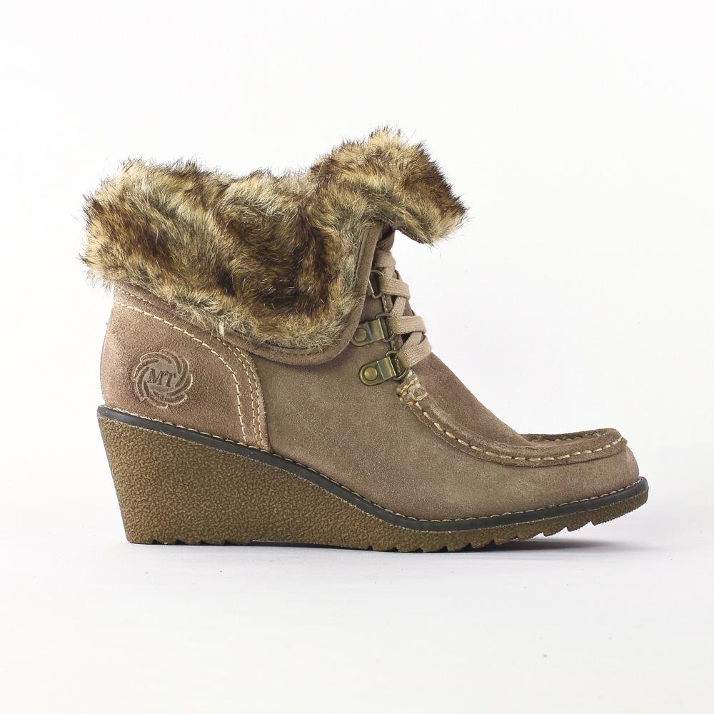 Boots talon compensé