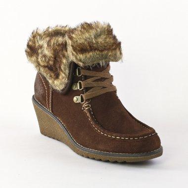 Chaussure compensée d'hiver