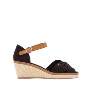 Chaussure compensée noire