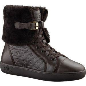 Louis vuitton fur sneakers