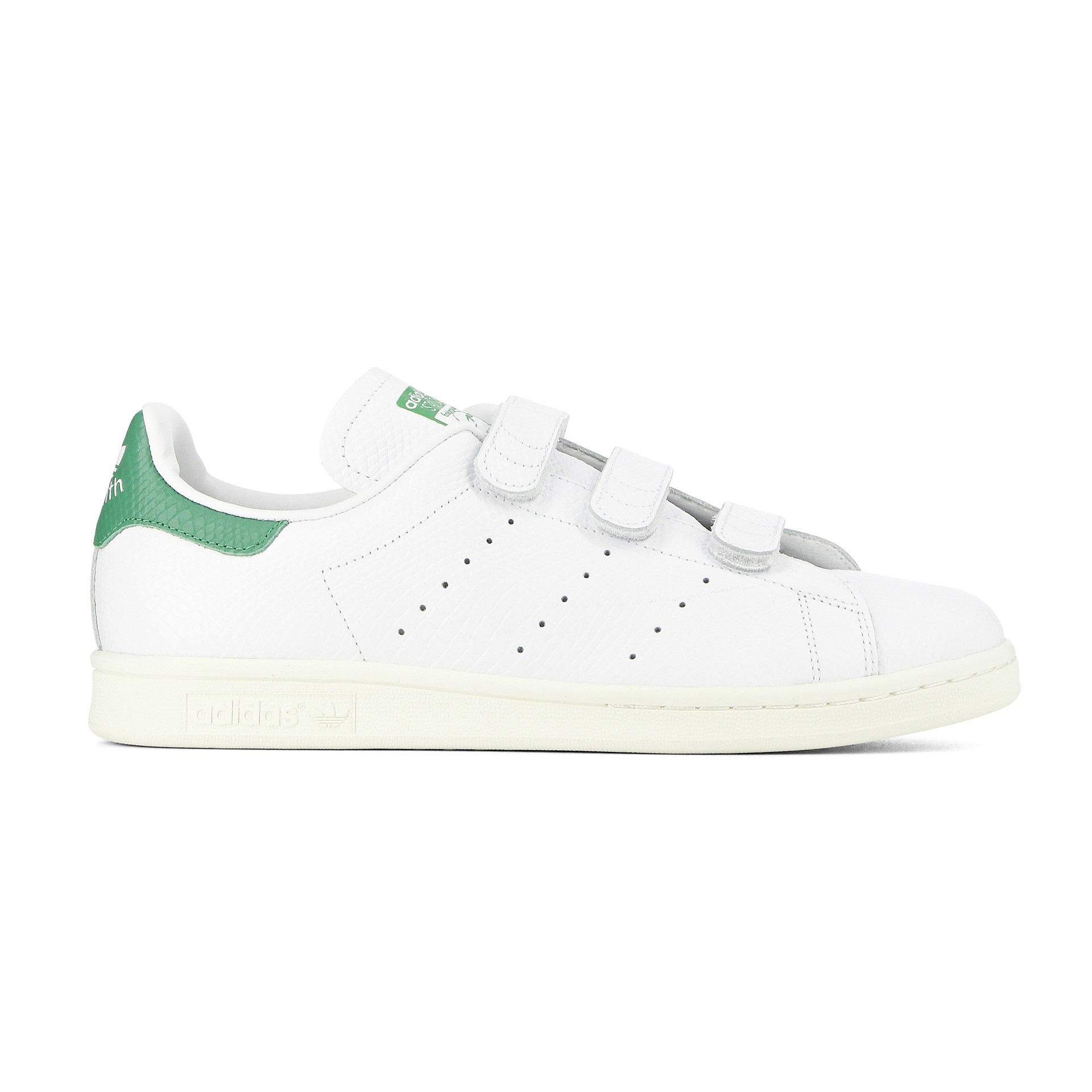 outlet Braderie ramasser Stan smith femme rouge a scratch - Chaussure - lescahiersdalter