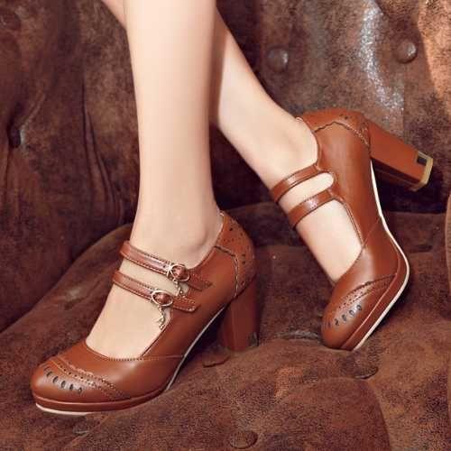 Chaussure compensée femme grande taille pas cher