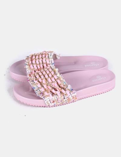 Sandales plates femme clarosa