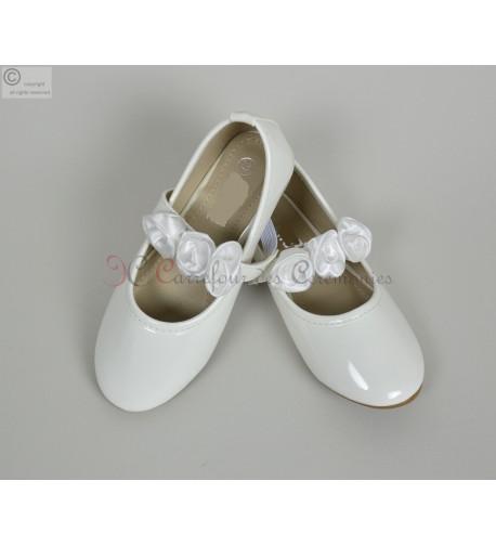 Ballerine blanche bebe