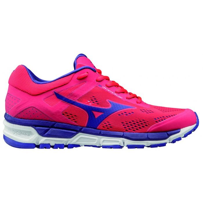 Chaussure running femme rose