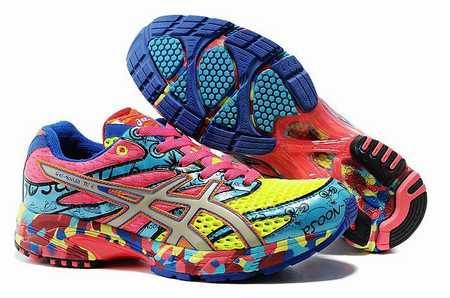 Chaussure course supinateur femme
