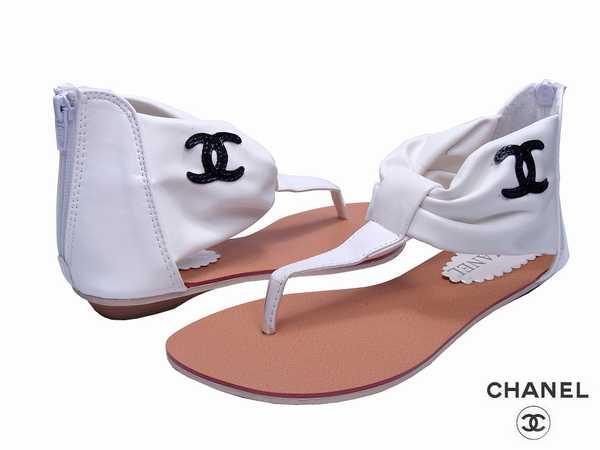Sandale femme chanel