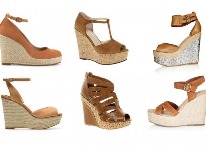 Chaussure compensee ete