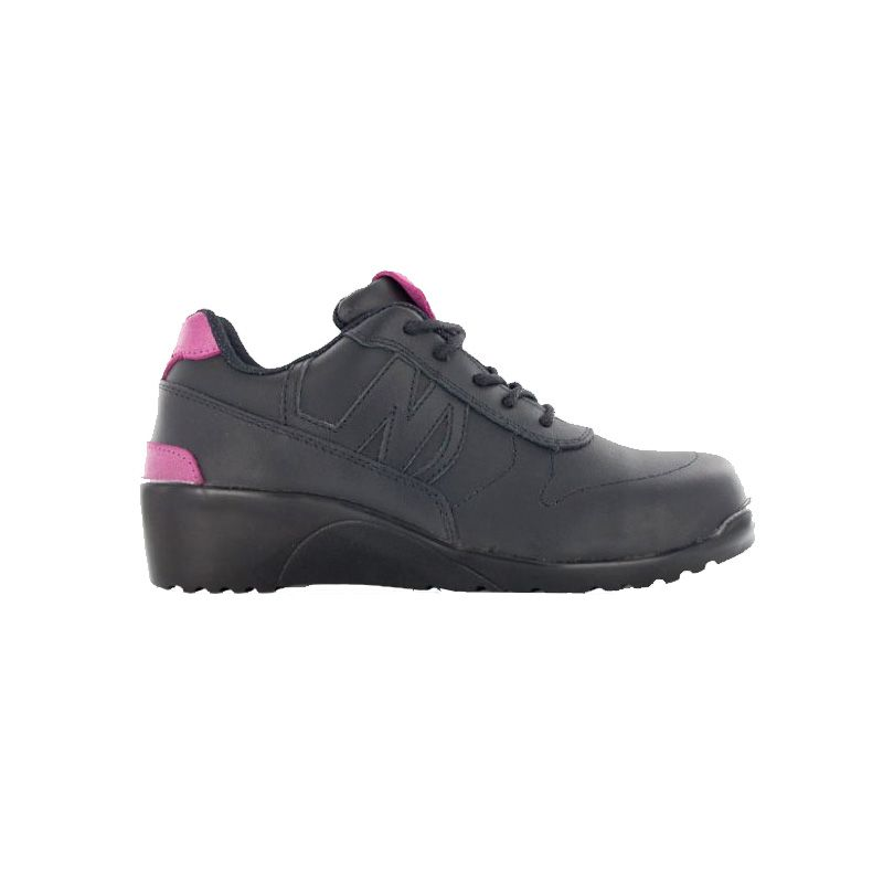Chaussure de securite a talon compense