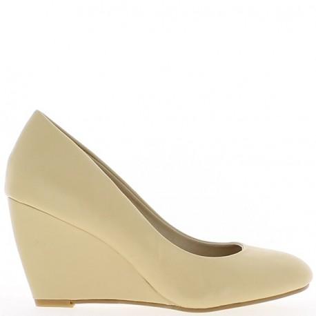 Chaussures talon compensé 8 cm