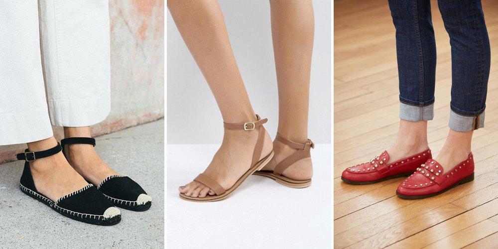 Chaussure compensée a la mode