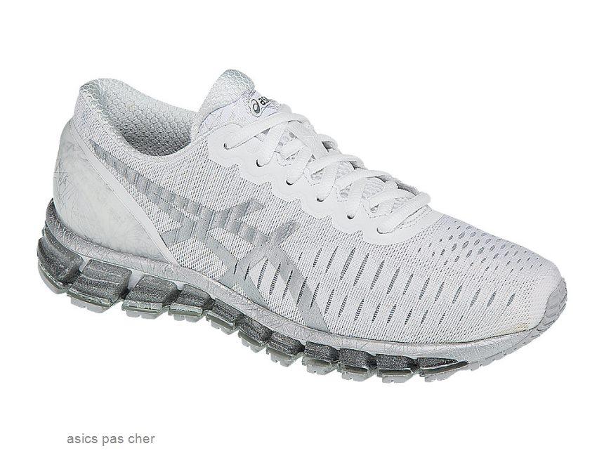 Chaussure de running blanche