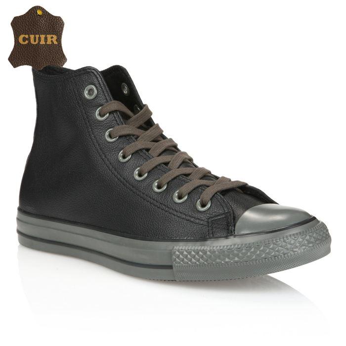 64af2e2f96c4a Converse en cuir femme pas cher - Chaussure - lescahiersdalter