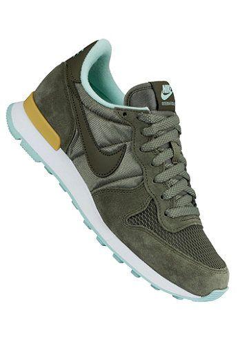 Nike sneakers groen dames