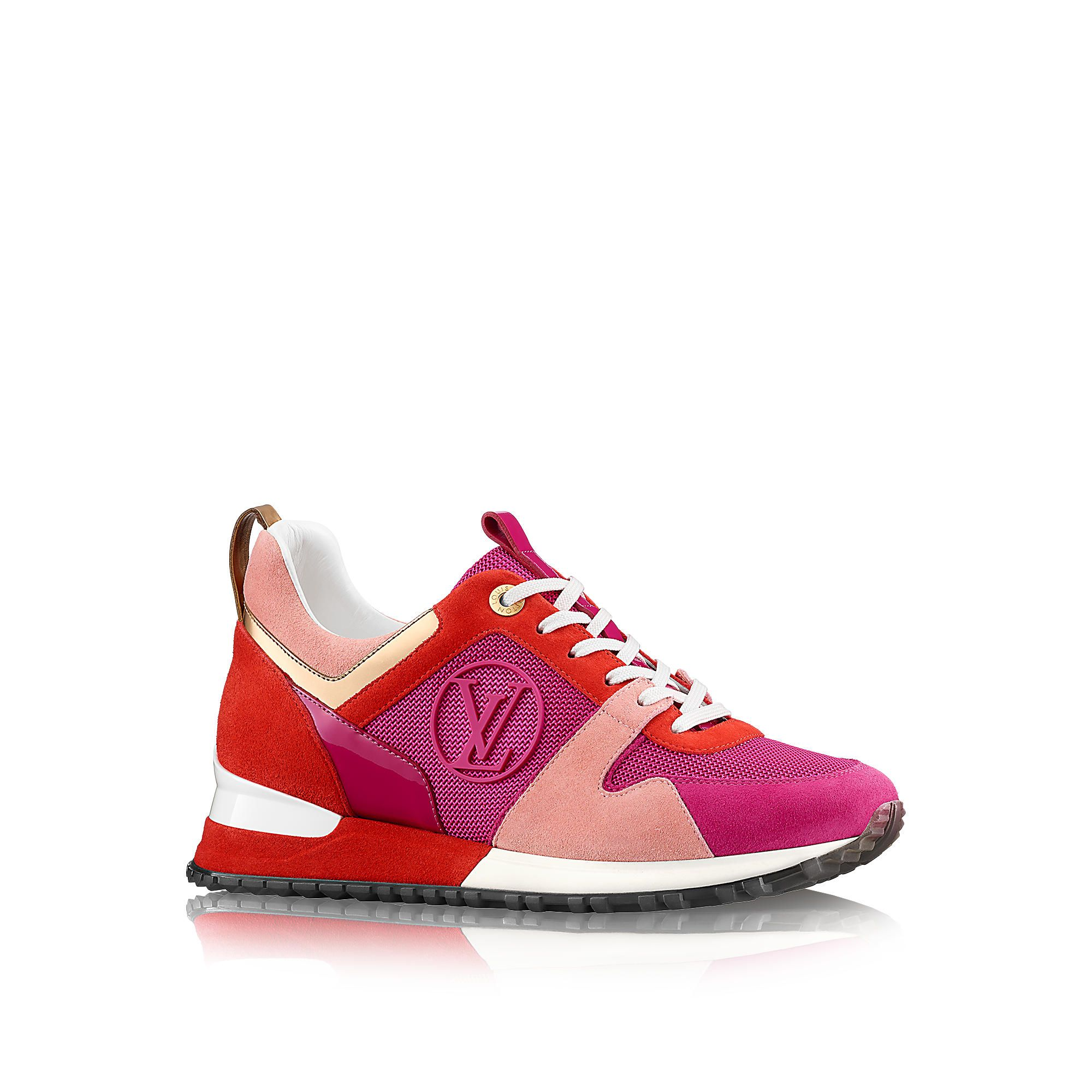 Sneakers louis vuitton femme rouge
