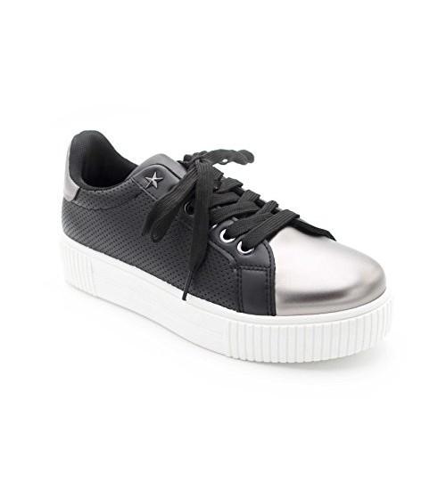 Sneakers femme cuir blanc
