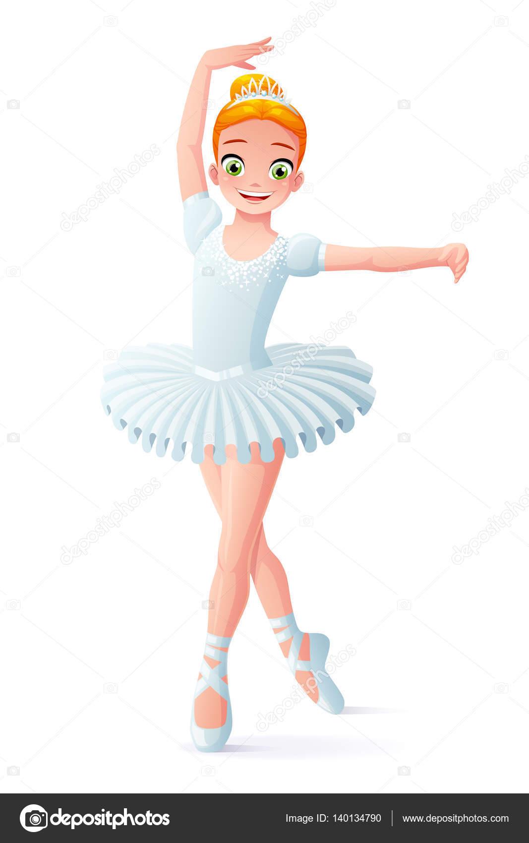 Ballerine dessin animé