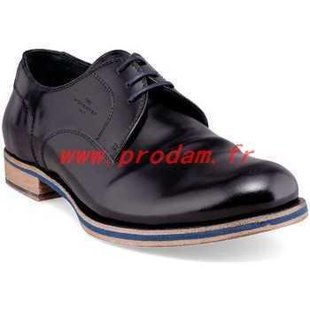 Chaussure talon compensé homme
