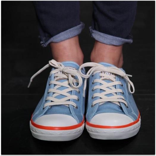 Sneakers femme bleu
