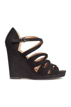 Chaussure compensée ado