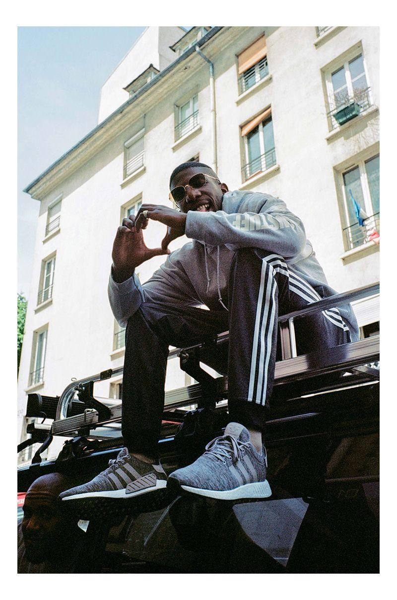 Sneakersnstuff grey melange