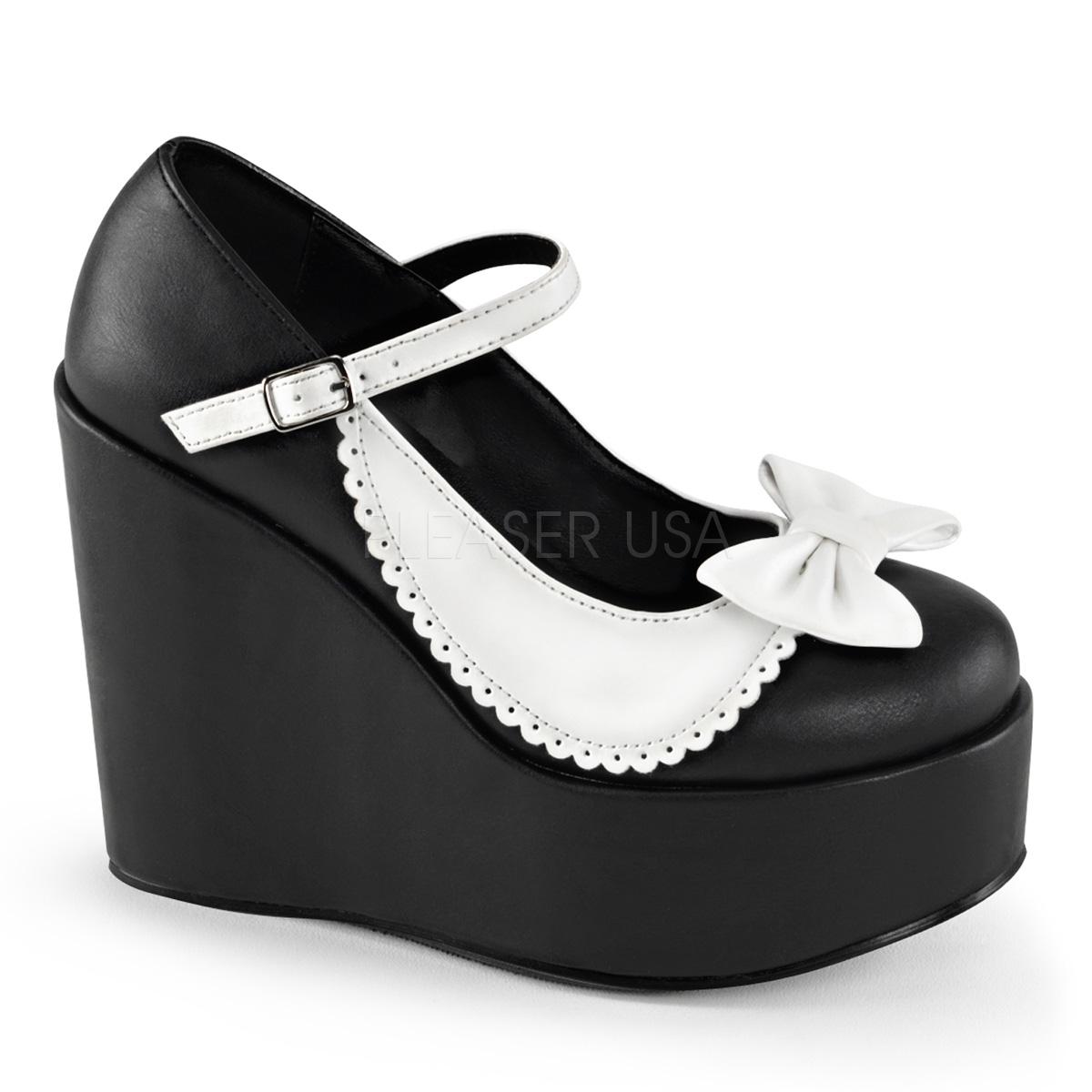 Chaussure compense a talon
