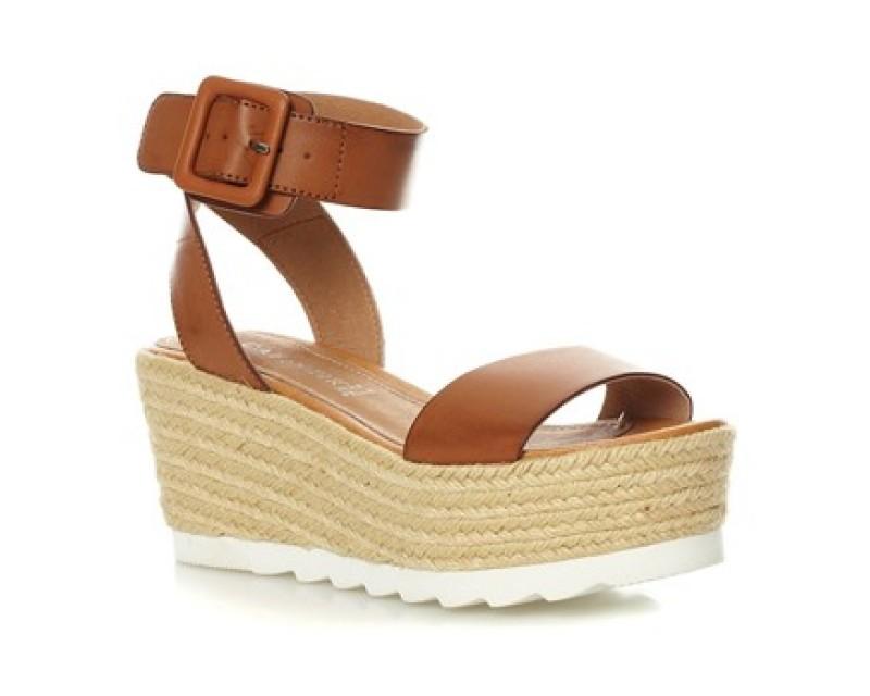 Cuir Chaussures Compensées Yan Femmes En OkiZuPX
