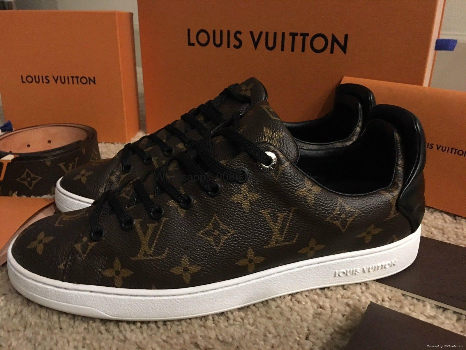 Frontrow sneaker louis vuitton red