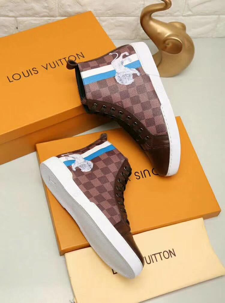 Louis vuitton lion sneakers