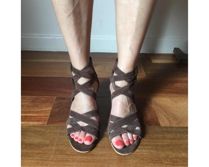Agnès b chaussures compensées