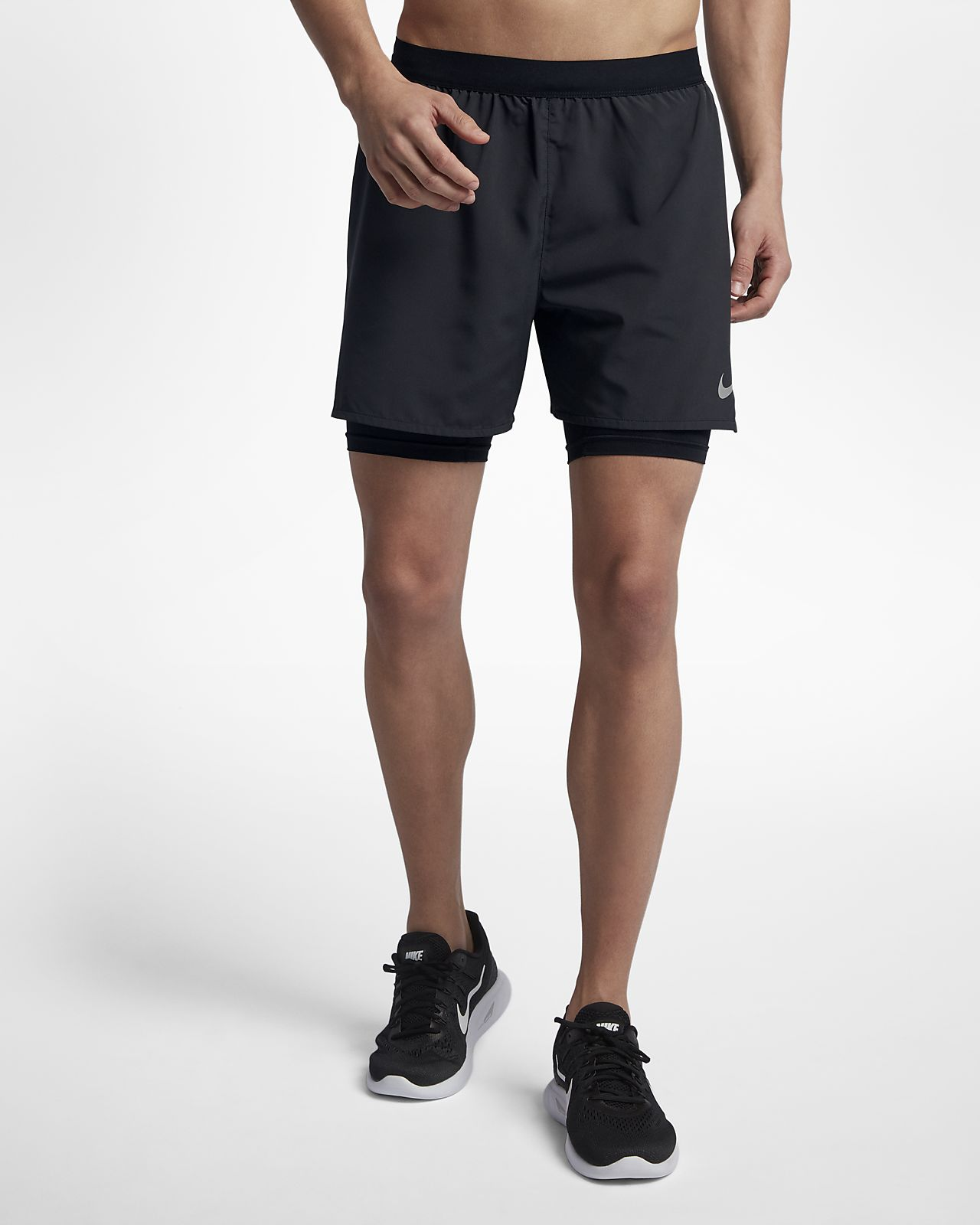 2 nike running shorts