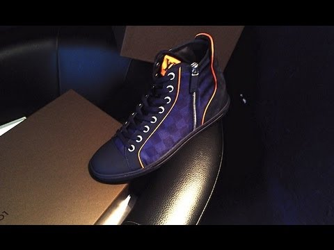Louis vuitton sneakers limited edition