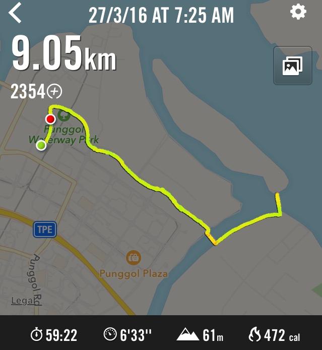 Running nike km