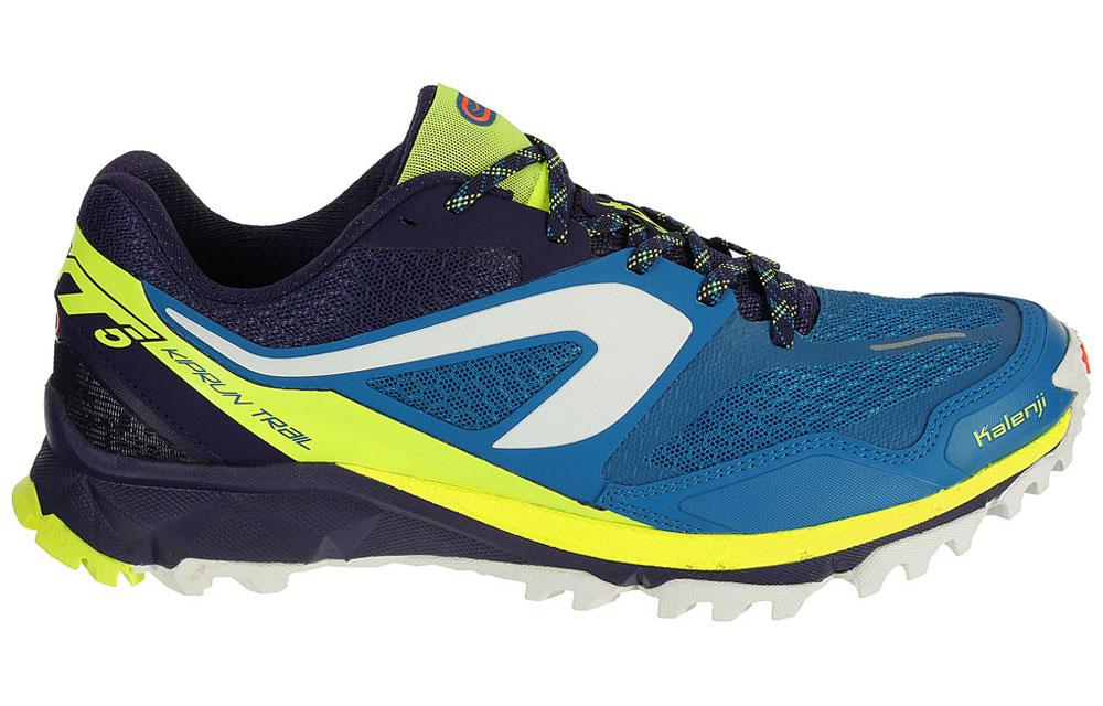 Chaussures de running kiprun md aw noir bleu kalenji