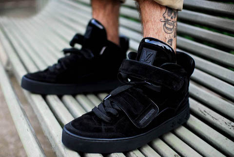 Kanye west louis vuitton sneakers jaspers
