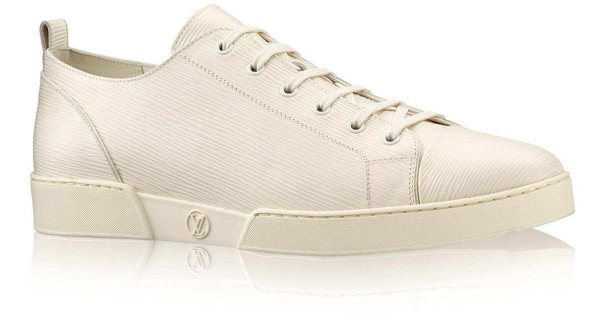 Sneakers louis vuitton blanc