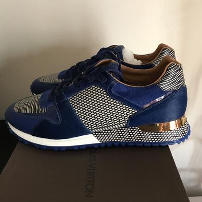 Sneakers louis vuitton bleu