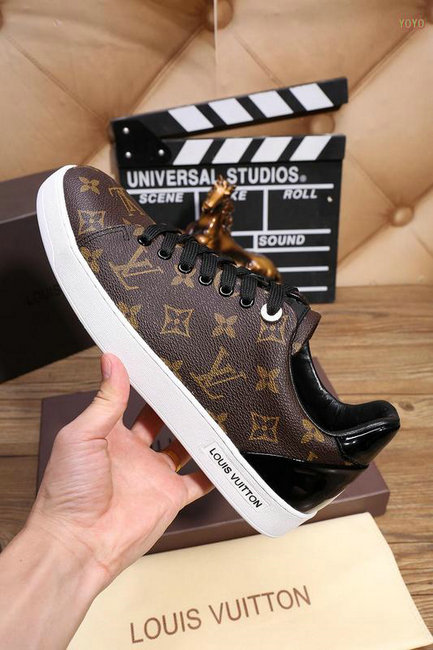 Sneakers louis vuitton rose