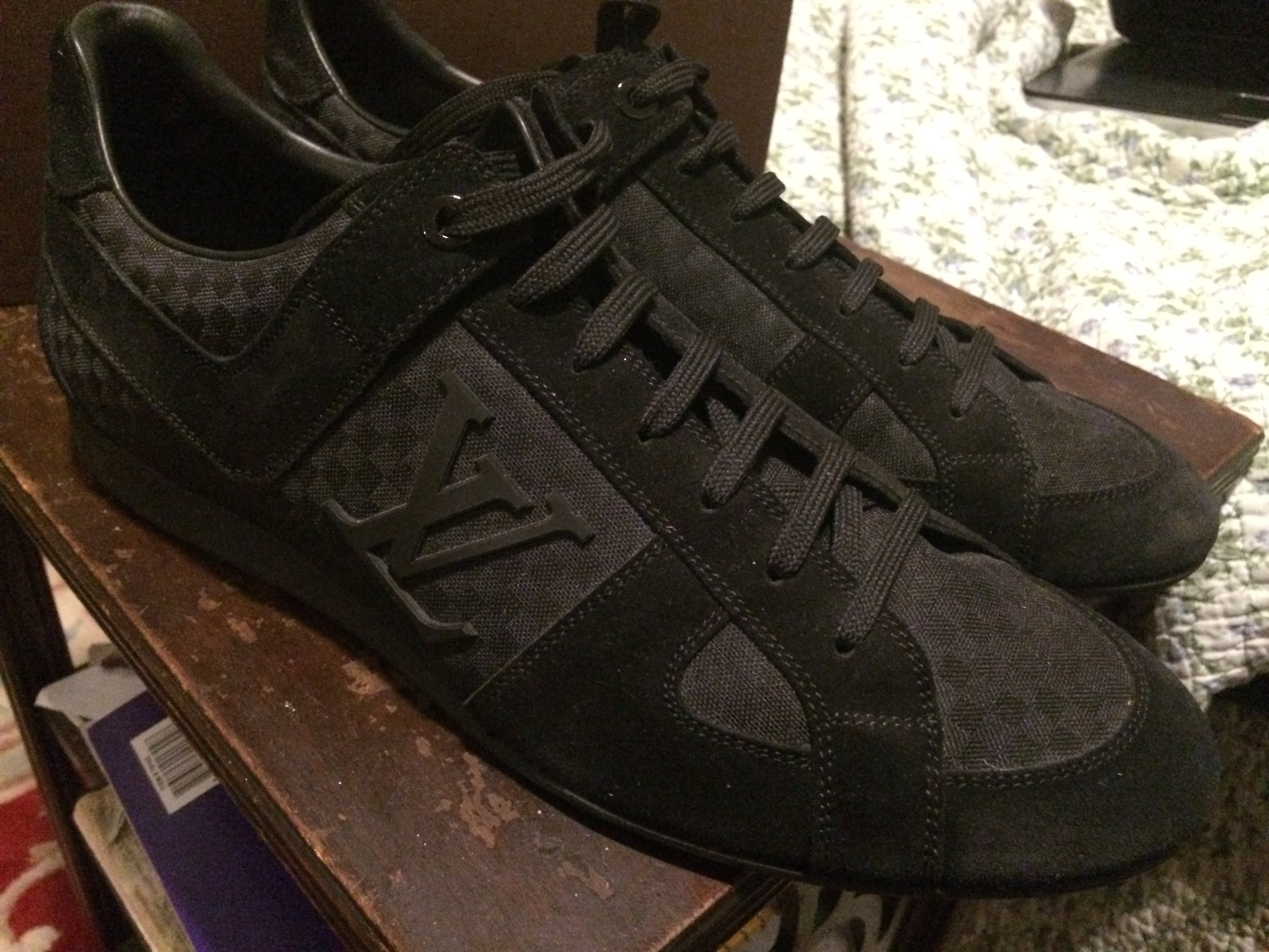 Louis vuitton sneakers review