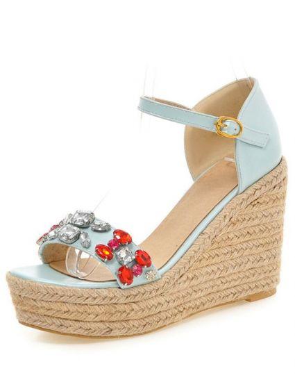 Chaussures talon compensé 10 cm
