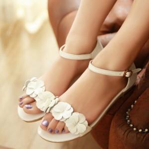 Sandale femme mariage