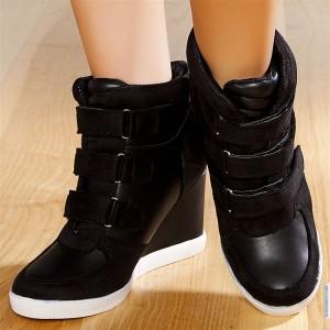 Sneakers femme compensées
