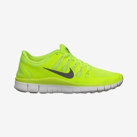 Nike free jaune