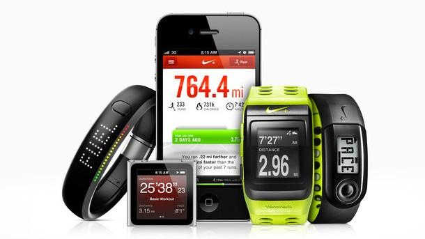 Nike running reloj