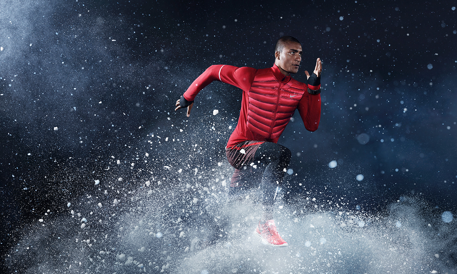 Running with nike